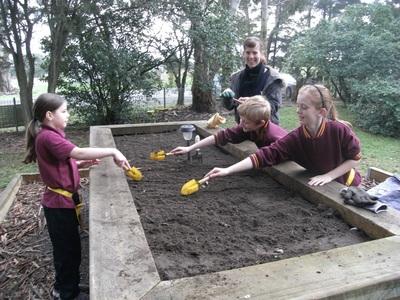 Glen Park kitchen garden
